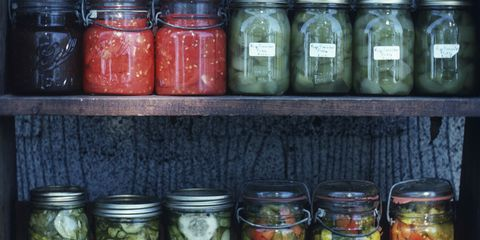 Food, Ingredient, Pickling, Canning, Food storage containers, Preserved food, Mason jar, Food storage, Achaar, Whole food,