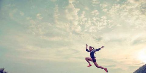 Cloud, Happy, People in nature, Jumping, Rejoicing, Exercise, Vacation, Extreme sport, Adventure, Balance,