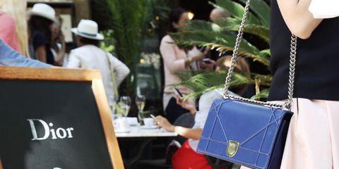 Textile, Joint, Bag, Fashion accessory, Fashion, Dress, Street fashion, Luggage and bags, One-piece garment, Fashion design,