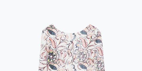 Sleeve, Textile, Collar, Pattern, Baby & toddler clothing, Aqua, Visual arts, Day dress, Pattern, Nightwear,
