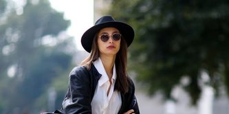 Clothing, Sleeve, Textile, Shoe, Hat, Outerwear, Bag, Style, Street fashion, Denim,
