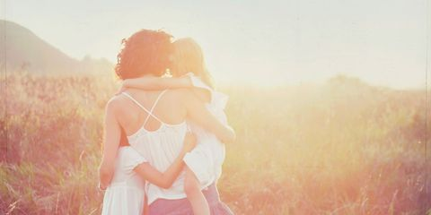 Mammal, People in nature, Summer, Interaction, Sunlight, Love, Romance, Backlighting, Morning, Meadow,