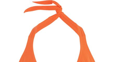 Orange, Red, Undergarment, Swimsuit bottom, Lingerie, Briefs, Undergarment, Waist, Back, Abdomen,