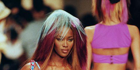 Brassiere, Human leg, Fashion model, Fashion show, Bikini, Swimsuit top, Waist, Navel, Lingerie, Undergarment,