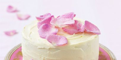 Sweetness, Food, Dessert, Pink, Ingredient, Cake, Serveware, Baked goods, Dishware, Cuisine,