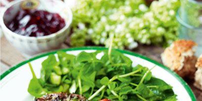 Food, Ingredient, Plate, Tableware, Dishware, Leaf vegetable, Cuisine, Produce, Recipe, Garnish,