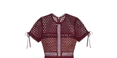 Sleeve, Pattern, Dress, Textile, Collar, One-piece garment, Style, Line, Fashion, Day dress,