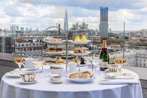 Boozy Afternoon Teas in London