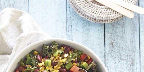 Food, Salad, Ingredient, Vegetable, Cuisine, Produce, Recipe, Meal, Vegetarian food, Mixture,