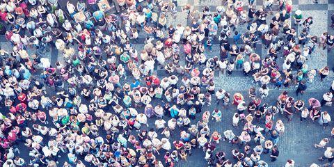 Blue, People, Crowd, Colorfulness, Aqua, People on beach,