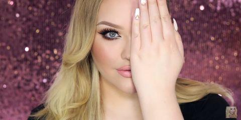 Finger, Lip, Brown, Hairstyle, Skin, Eyebrow, Eyelash, Nail, Style, Beauty,