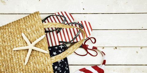 Red, Carmine, Present, Christmas decoration, Ribbon, Gift wrapping, Christmas, Flag of the united states,
