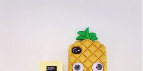 Finger, Yellow, Produce, Ingredient, Nail, Cuisine, Thumb, Fictional character, Toy, Ananas,