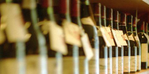 Bottle, Alcohol, Alcoholic beverage, Glass bottle, Shelf, Liquor store, Drink, Shelving, Collection, Winery,