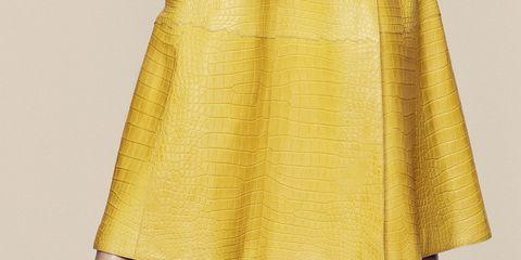 Yellow, Textile, Human leg, Style, Fashion, Street fashion, Foot, Sandal, Tan, Beige,
