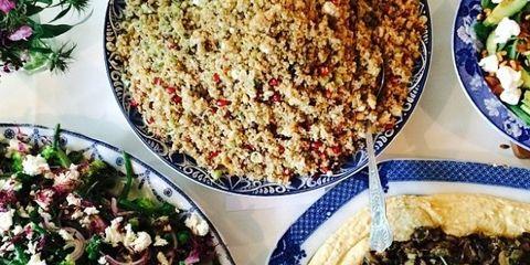 Food, Cuisine, Salad, Dish, Recipe, Ingredient, Meal, Dishware, Mixture, Leaf vegetable,