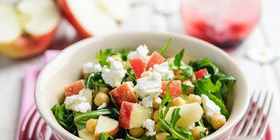 Salad, Food, Serveware, Dishware, Cuisine, Ingredient, Pink, Tableware, Produce, Vegetable,