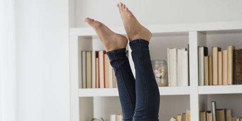 Comfort, Human leg, Room, Wrist, Elbow, Shelf, Beauty, Thigh, Shelving, Knee,