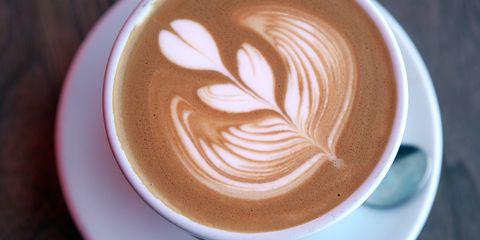 Cup, Coffee cup, Serveware, Drinkware, Drink, Espresso, Flat white, Café, Single-origin coffee, Coffee,