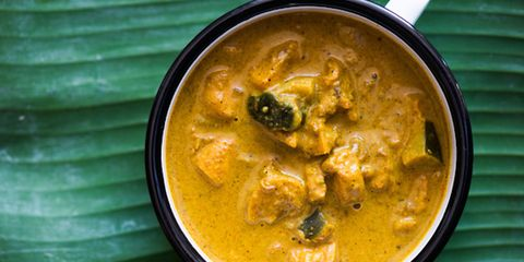 Food, Stew, Curry, Recipe, Dish, Yellow curry, Soup, Thai curry, Serveware, Korma,