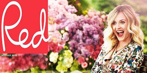 Pink, Petal, Dress, People in nature, Pattern, Magenta, Street fashion, Spring, Day dress, One-piece garment,
