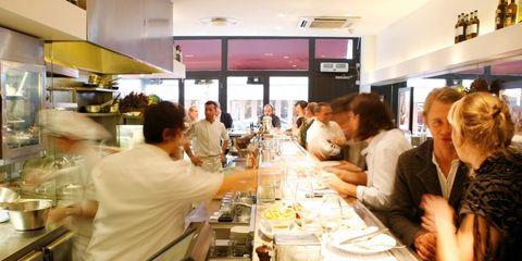 Restaurant, Glass, Customer, Tableware, Drinkware, Chair, Barware, Drink, Conversation, Stemware,
