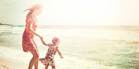 People on beach, Fun, Beach, People in nature, Summer, Interaction, Holiday, Ocean, Vacation, Waist,