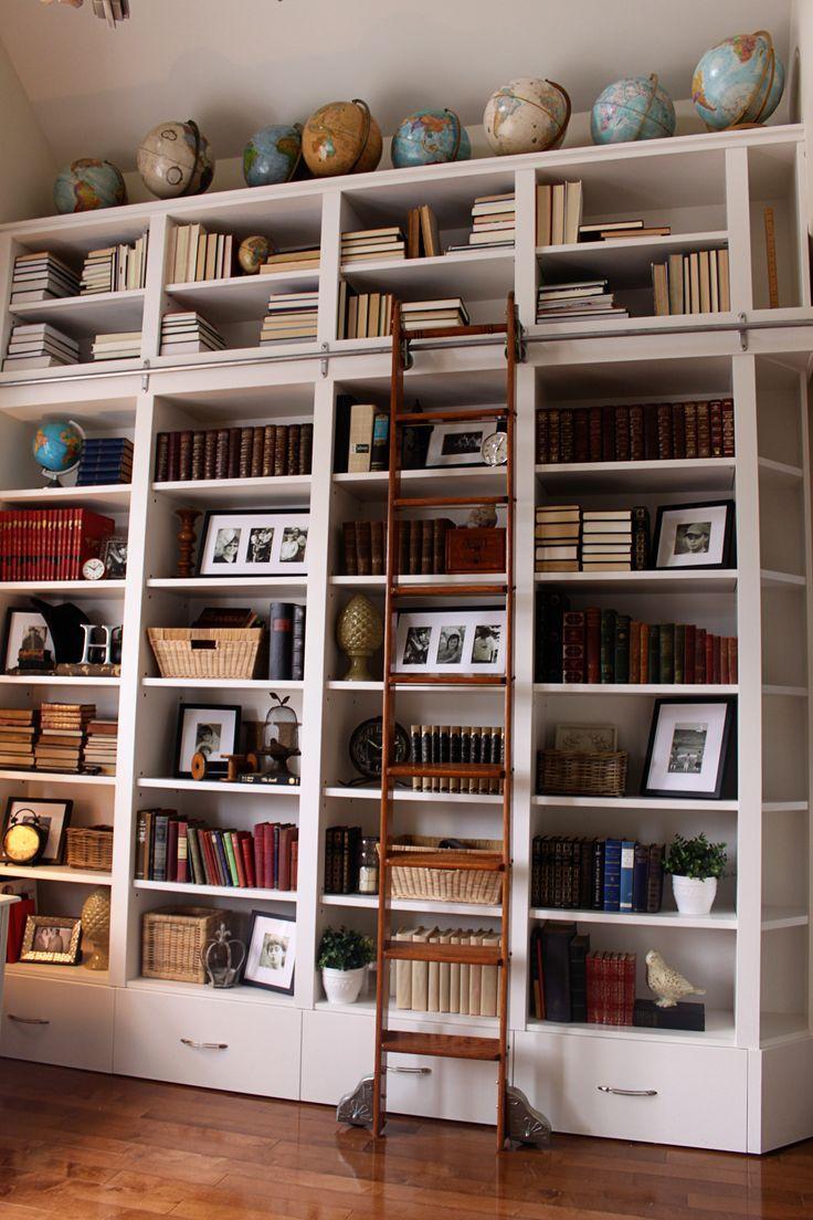 Decorar una biblioteca en casa