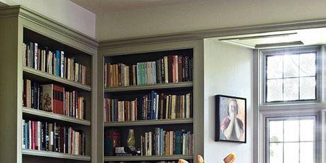 Wood, Room, Interior design, Furniture, Shelf, Floor, Bookcase, Shelving, Table, Flooring,