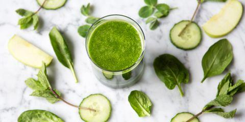 Green, Leaf, Drink, Ingredient, Chemical compound, Citrus, Lemon, Green sauce, Herb, Spice,