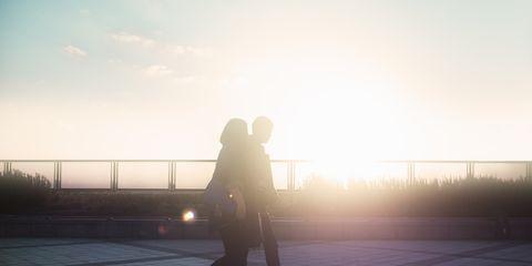 Sunlight, Backlighting, Evening, Snapshot, Shadow, Sunset, Walkway, Love, Sunrise, Dusk,