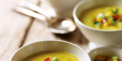 Food, Dishware, Cuisine, Dish, Serveware, Tableware, Ingredient, Bowl, Soup, Garnish,