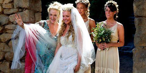 Clothing, Bridal clothing, Dress, Bridal veil, Veil, Wedding dress, Textile, Photograph, Gown, Bride,