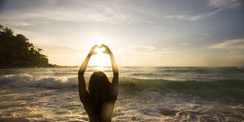 Sunlight, Summer, People in nature, Liquid, Beauty, Swimsuit top, Back, Undergarment, Ocean, Swimsuit bottom,