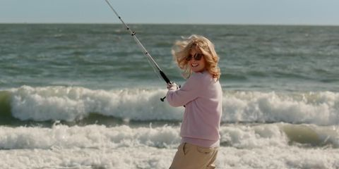 Human, Fun, Recreation, Water, Fishing, Photograph, Joint, Leisure, Standing, Fishing rod,
