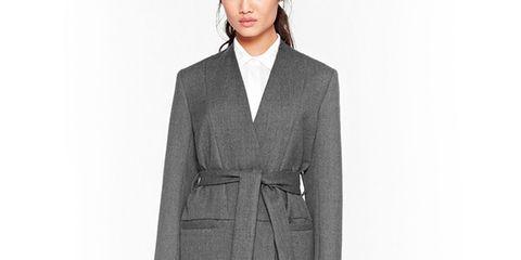 Clothing, Collar, Sleeve, Shoulder, Standing, Coat, Dress shirt, Joint, Outerwear, Formal wear,