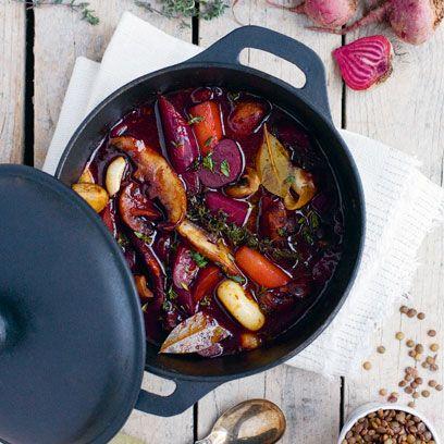 Dish, Food, Cuisine, Ingredient, Produce, Vegetable, Recipe, Stew, Meat, Coq au vin,