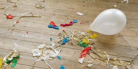 Balloon, Party supply, Natural material, Craft,