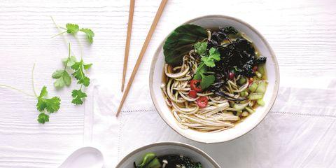 Food, Cuisine, Ingredient, Tableware, Dishware, Produce, Bowl, Chinese noodles, Noodle, Pasta,