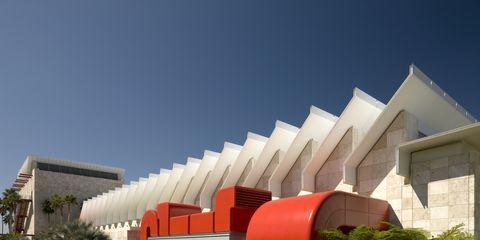 Architecture, Property, Real estate, Facade, Composite material, Shade, Urban design, Garden, Design, Lawn,
