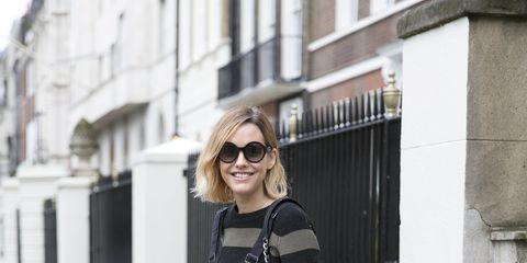 Clothing, Eyewear, Glasses, Sunglasses, Textile, Photograph, Outerwear, White, Bag, Style,
