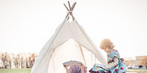 Tent, Sitting, Gazebo, Yurt, Balance,