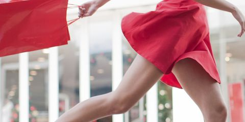 Human leg, Red, Joint, Flag, Knee, Carmine, Fashion, Foot, Waist, Thigh,
