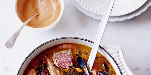 Food, Ingredient, Serveware, Dish, Tableware, Soup, Seafood, Cuisine, Recipe, Stew,