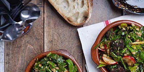 Food, Cuisine, Tableware, Ingredient, Dish, Recipe, Leaf vegetable, Meal, Bowl, Bread,