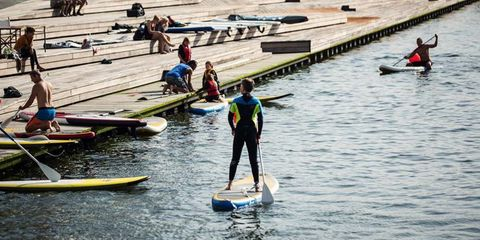 Recreation, Surfing Equipment, Surface water sports, Surfboard, Outdoor recreation, Watercraft, Water sport, Sports, Boats and boating--Equipment and supplies, Canoeing,