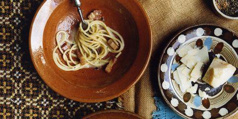 Cuisine, Food, Dishware, Tableware, Noodle, Ingredient, Dish, Al dente, Recipe, Spaghetti,