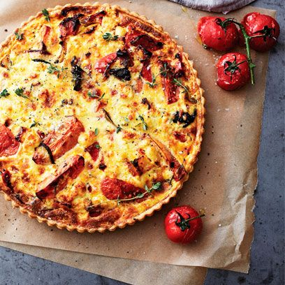 Dish, Food, Cuisine, Ingredient, Quiche, Pizza, Baked goods, Produce, Zwiebelkuchen, Italian food,
