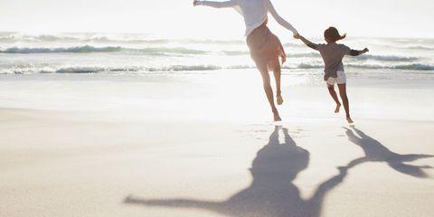 People on beach, Water, Beach, Fun, Sea, Sand, Vacation, Ocean, Sky, Shore,