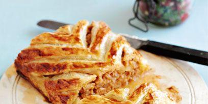 Food, Cuisine, Plate, Dishware, Dish, Tableware, Baked goods, Serveware, Finger food, Breakfast,